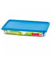 Пищевой контейнер прямоугольный Emsa Snap&Close 2.4 л Синий (EM508582)