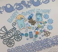 Набор декоративных элементов _ Baby Boy