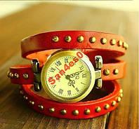 Женские часы браслет кожа , фото 1