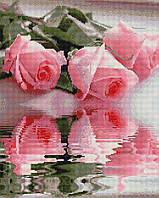 """Набір для алмазної мозаїки """"Рози"""" 40х50см GF1231"""