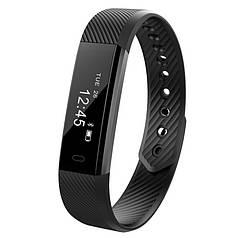 ☀Фитнес браслет Smart Band ID115 Black на руку для физических тренировок и упражнений