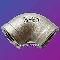 """Нержавеющие отводы 90° резьба Dn 25 AISI 304 (1"""" дюйм)"""