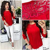 Блуза женская, модель 793, цвет - красный