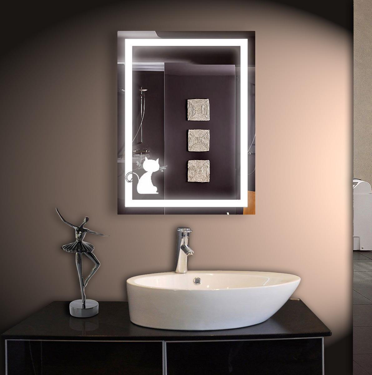 Зеркало LED со светодиодной подсветкой ver-3076 600х800 мм