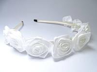 Веночек Розы белые