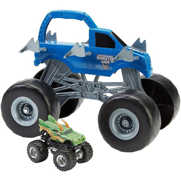 Hot Wheels Внедорожник автовоз-подставка Monster Jam Colossal Carrier Vehicle CKF68