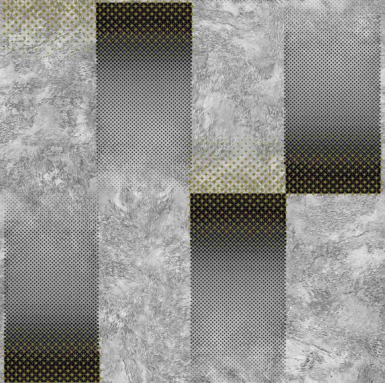 Обои бумажные Континент Грато серый 1375