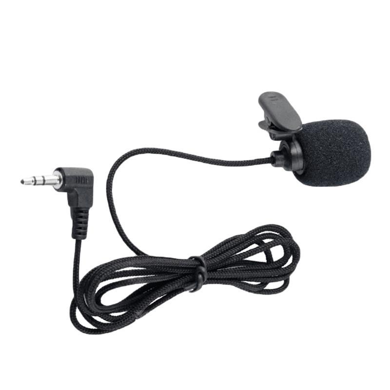 Петличный микрофон в тканевой обмотке (стерео)