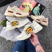 Женские кроссовки Gucci Gara (Реплика 1:1), фото 3