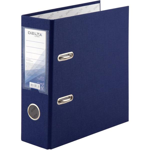 Папка-регистратор Delta A5 одностор. синяя 7,5 см 1718-02С