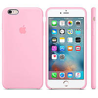 Чехол for Apple iPhone 6 plus/6s plus Silicone Case Light Pink (MM6D2)