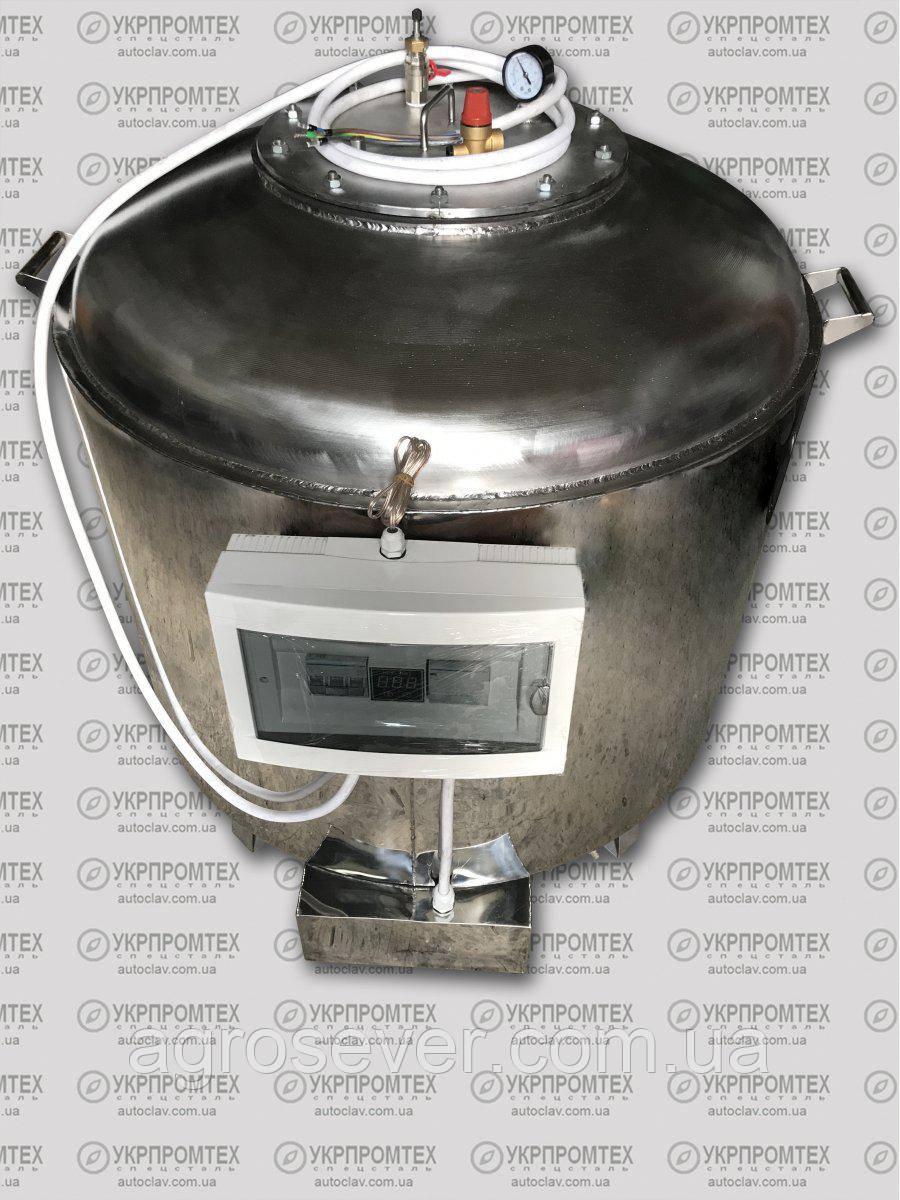 """Автоклав """"А350 Пром"""" (380В) + Водяное охлаждение 350 пол литровых банки или 200 литровых"""