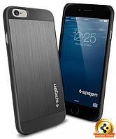 Чехол Spigen для iPhone 6s / 6 Aluminum Fit, Space Gray , фото 1