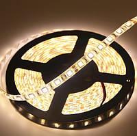 Светодиодная лента LED влагозащищённая, 24V, SMD5050, IP65, 60 д/м, белый теплый