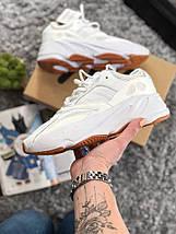 Размер 43-44!!! Мужские кроссовки Adidas Yeezy 700 (Рефлективные)/ реплика (1:1 к оригиналу), фото 3