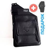Сумка-рюкзак мужская на ремне POLO (1106)