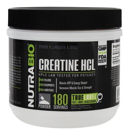 Креатин Nutrabio Creatine HCl 135g
