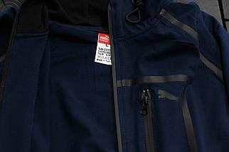 Мужской спортивный костюм Puma Mercedes.Синий, фото 2