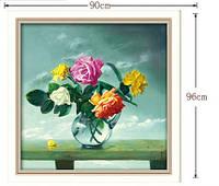 """Алмазная вышивка """"Розы в вазе"""" (набор для творчества)"""