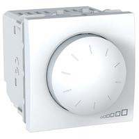 Диммер пов.-нажимной для фл. ламп, 1-10В 400 Вт 2-мод Белый Unica Schneider, MGU3.511.18