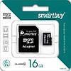 Карта памяти Smartbuy  Micro SD 16 Gb + переходник