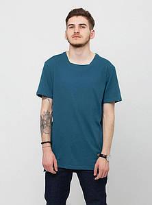 Мужская синяя футболка UrbanPlanet ORIGINAL T DEEP