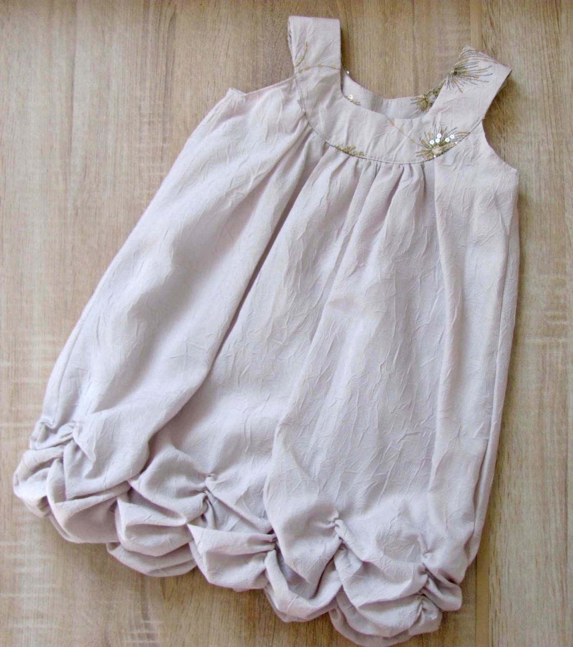 Распродажа! Детское летнее платье р.104-122 Белла, фото 1