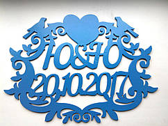 Семейный герб с сердцами