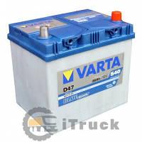 Аккумулятор VARTA Blue Dynamic D47 60 Ah, R, EN540, (д232xш173xв225)