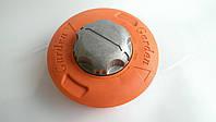 Шпуля бензокосы мотокосы полный автомат гарден металл кнопка