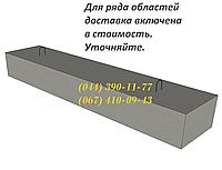 4ПП 12-4 перемычка плитная железобетонная ЖБИ