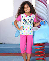 Комплект для сна детский 6533 футболка+капри Berrak