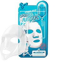 Тканевая маска Elizavecca Aqua Deep Power Ringer Mask Pack