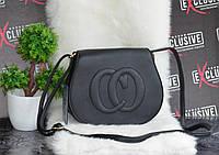 Черная сумка в стиле Gucci., фото 1