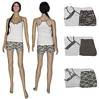 Пижама женская летняя 03223 Ameli, майка топ и шорты, р.р.42-50, фото 1