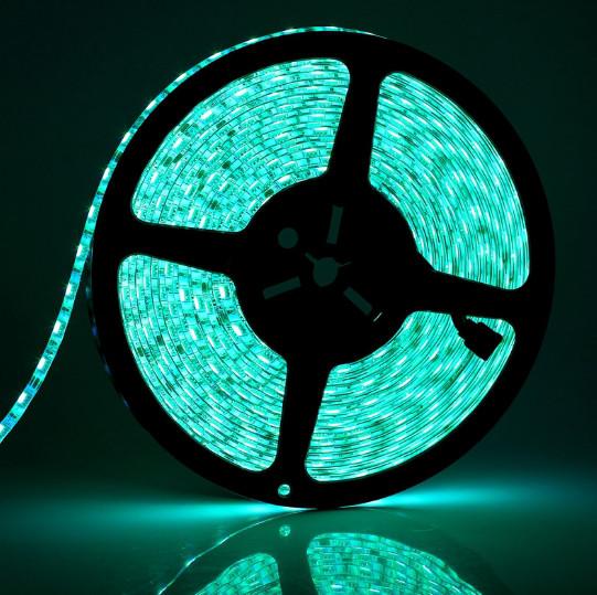 Светодиодная лента LED влагозащищённая, 12V, SMD5050, IP65, 60 д/м, Ice Blue