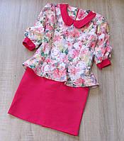 Детское платье р.128-152 Кристина, фото 1