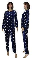 Пижама женская зимняя махровая 03627-4 Stars вельсофт, р.р.44-50