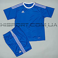 Футбольная форма Adidas игровая для команд светло синяя