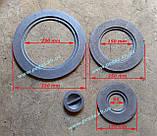 Плита пічна чавунна 410х410 мм. барбекю, казан, мангал, грубу, фото 4