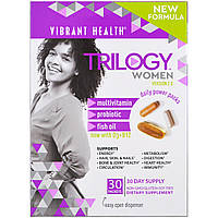 Vibrant Health, Trilogy Women, Daily Power Packs, версия 2.0, 30 пакетиков