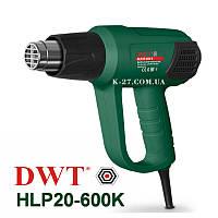 Фен промышленный технический DWT HP20-600K(2000W 3-х реж