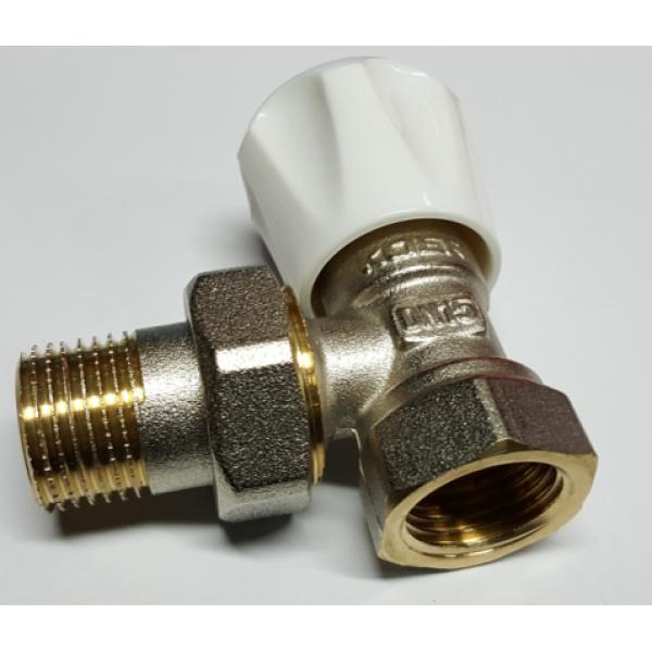 Вентиль радиаторный угловой KOER 1/2 верх