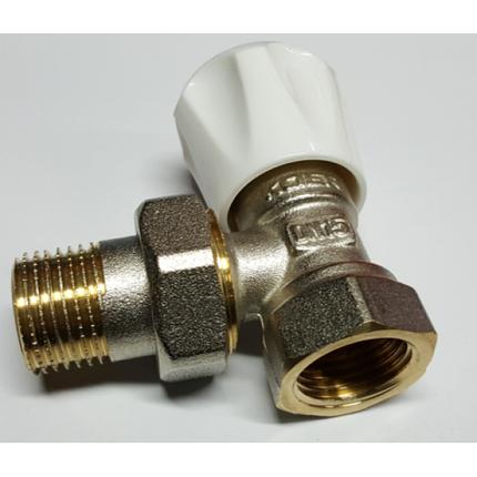 Вентиль радиаторный угловой KOER 1/2 верх, фото 2