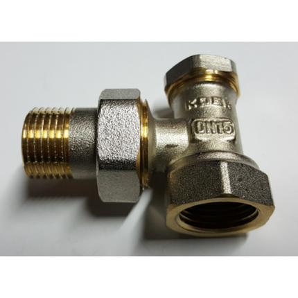 Вентиль радиаторный угловой KOER 1/2 низ, фото 2