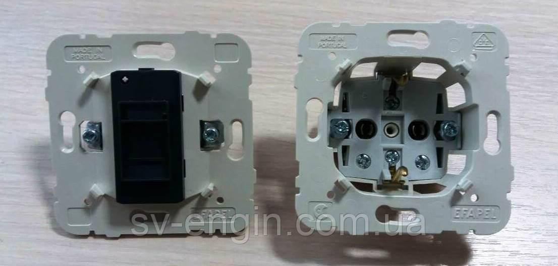 MEC 21 (EFAPEL, Португалия) - механизмы для серий LOGUS 90, sirius 70, APOLO 5000