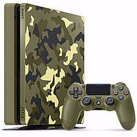Sony PlayStation 4 Slim 1TB + Call of Duty: WWII Limited Edition