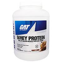 GAT, Изолят Сывороточного Протеина, Белковый Коктейль для Наращивания Мышечной Массы, Основа Кофе, 5 унций (2268 г)