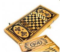 Игровой набор 3 в 1 Шахматы, Шашки, Нарды B5025-C
