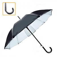 Зонт-трость полуавтомат мужской д55см 10сп